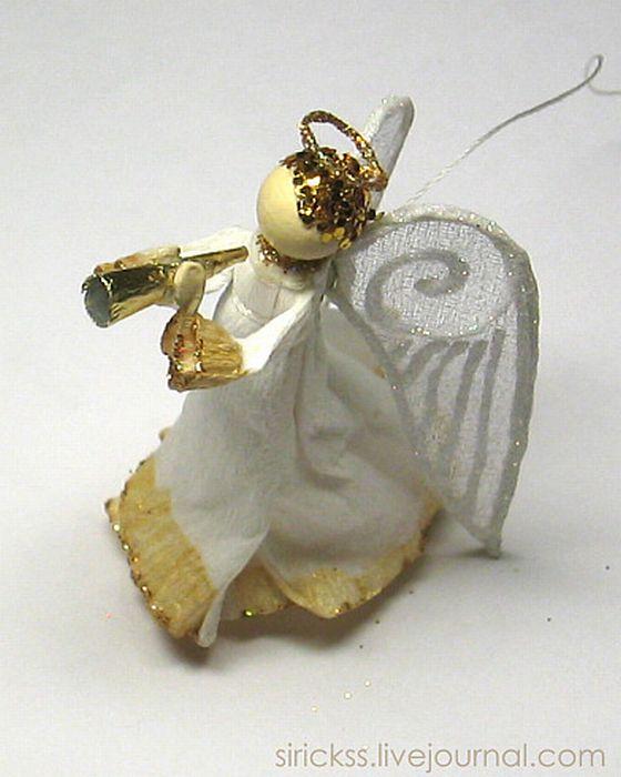 Прекрасный ангел в стеклянном шаре (мастер-класс в фотографиях)) 34025