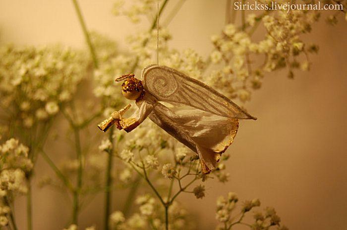 Прекрасный ангел в стеклянном шаре (мастер-класс в фотографиях)) 50074