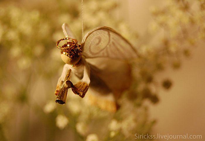 Прекрасный ангел в стеклянном шаре (мастер-класс в фотографиях)) 16669
