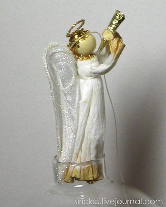 Прекрасный ангел в стеклянном шаре (мастер-класс в фотографиях)) 44832
