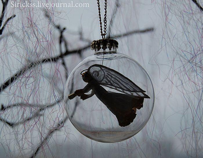 Прекрасный ангел в стеклянном шаре (мастер-класс в фотографиях)) 12009