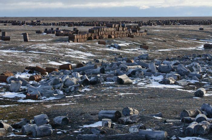 Загрязнение Арктики (16 фото)