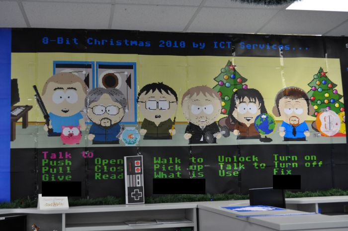 Программистов попросили украсить офис (18 фото)