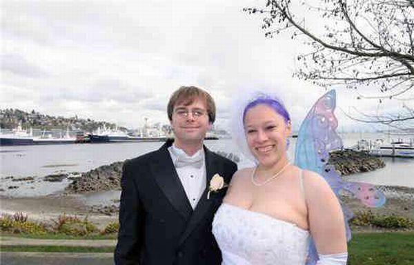 Смешные свадебные фотографии (31 фото)