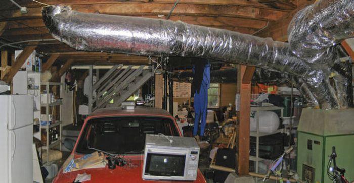 До и после уборки в гараже (13 фото)