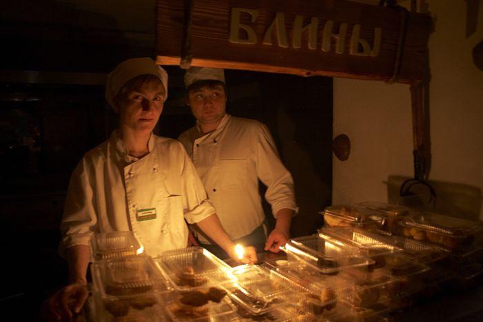 Как люди в Домодедово застряли (24 фото)