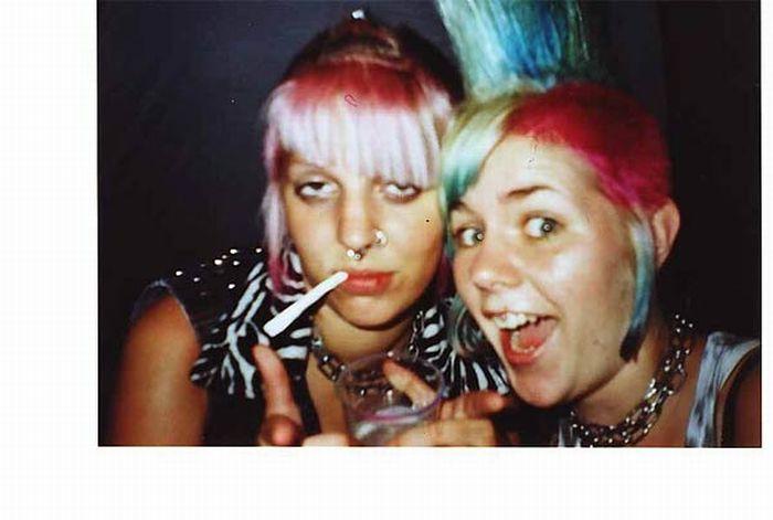 Девушки панки (125 фото)