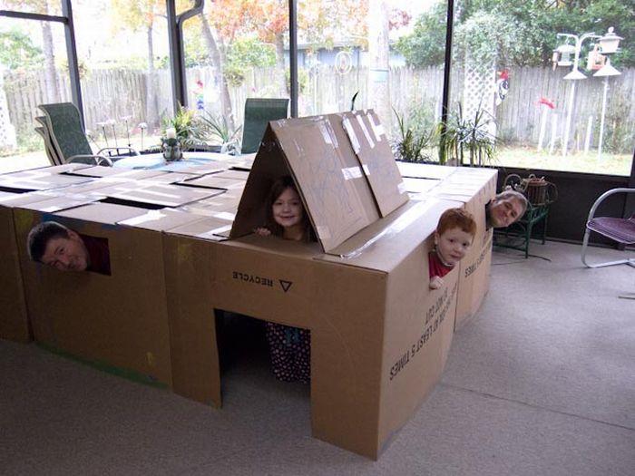 Как развлечь детей в такую погоду (10 фото)