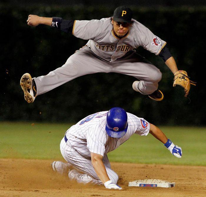 Лучшие спортивные фотографии 2010 года (107 фото)