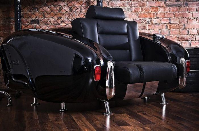 Мебель из старого автомобиля (10 фото)