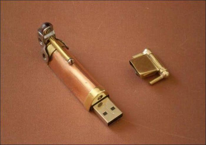 Ручка в стиле стимпанк (10 фото)