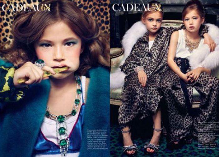 Дети модели (7 фото)