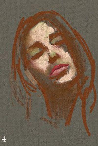 Рисунок на iPad (13 pics)