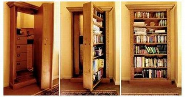 Тайные комнаты (20 фото)