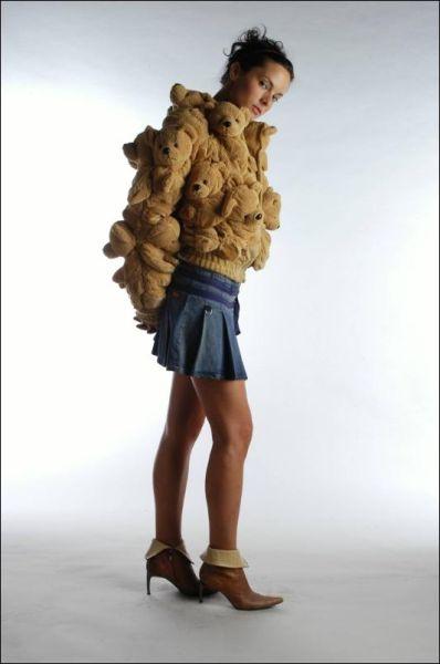 Необычная куртка (6 фото)