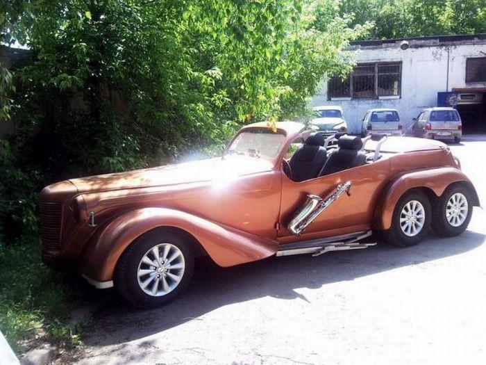 Москвич-кабриолет (14 фото)