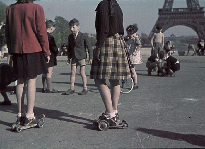 Оккупированный Париж (53 фото)