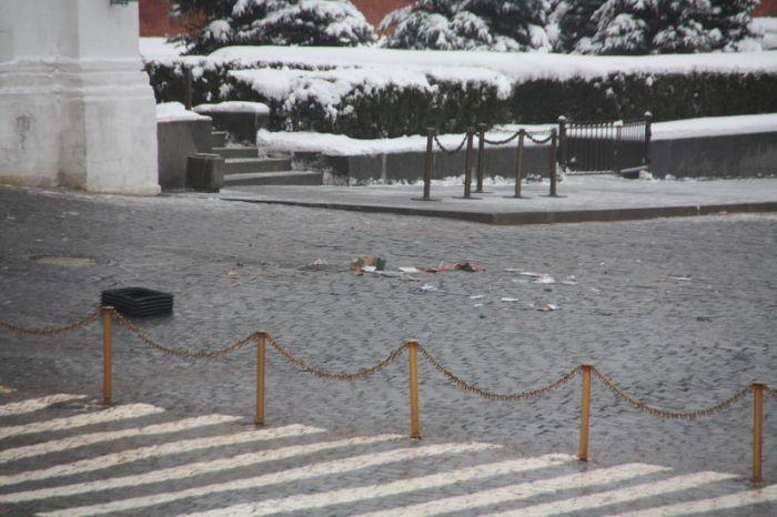 Взрыв на Красной площади (11 фото)