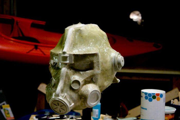 Шлем из игры Fallout 3 (49 фото)
