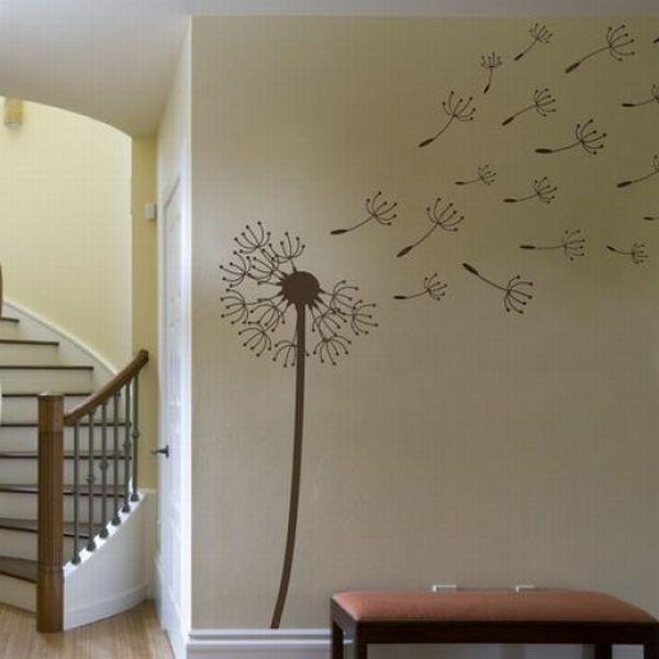Рисунки на стенах в коридоре в квартире своими руками фото