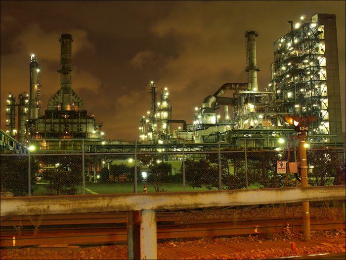 Заводы Японии (35 фото)
