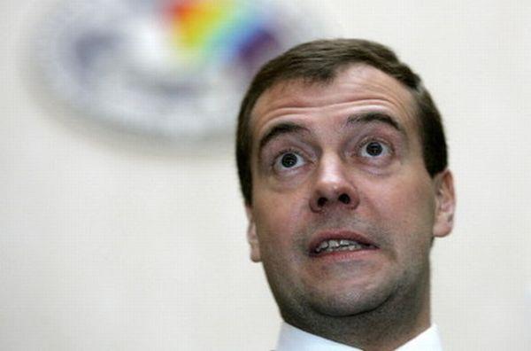 Мимика Дмитрия Медведева (12 фото)