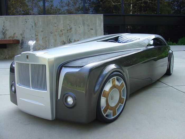 Концепт Rolls-Royce Apparition (15 фото)