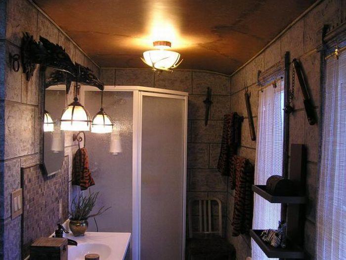 Ванная комната в стиле World Of Warcraft (31 фото)