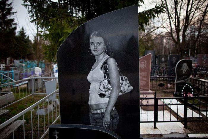 Надгробия в Днепропетровске. Часть 2 (10 фото)