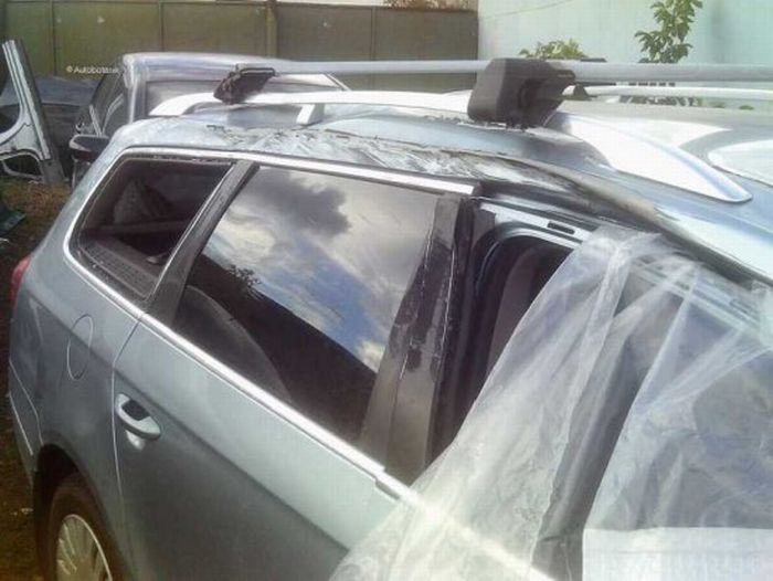 Из разбитой машины в новенькую иномарку (61 фото)