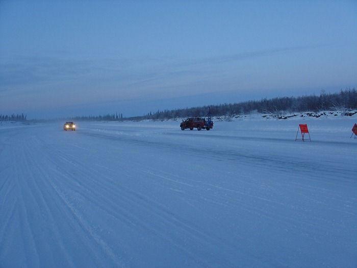 Зимняя дорога (9 фото)