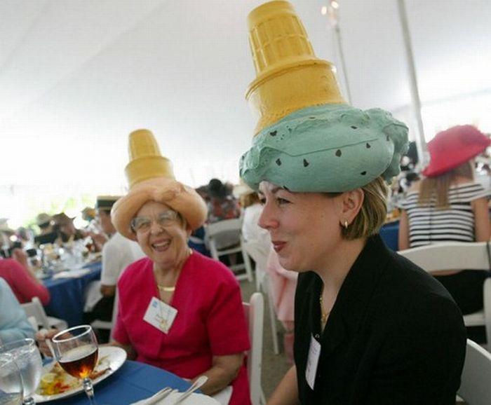 Прикольные шляпы (45 фото)