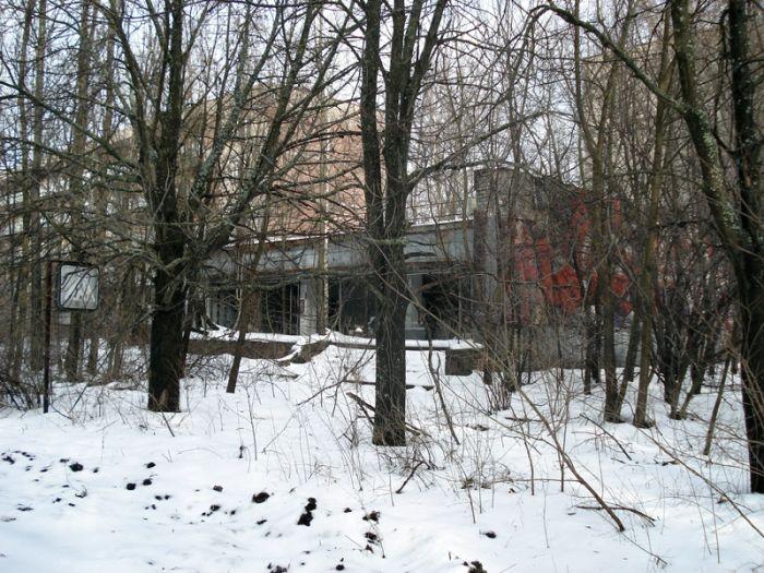 Чернобыль зимой (30 фото)