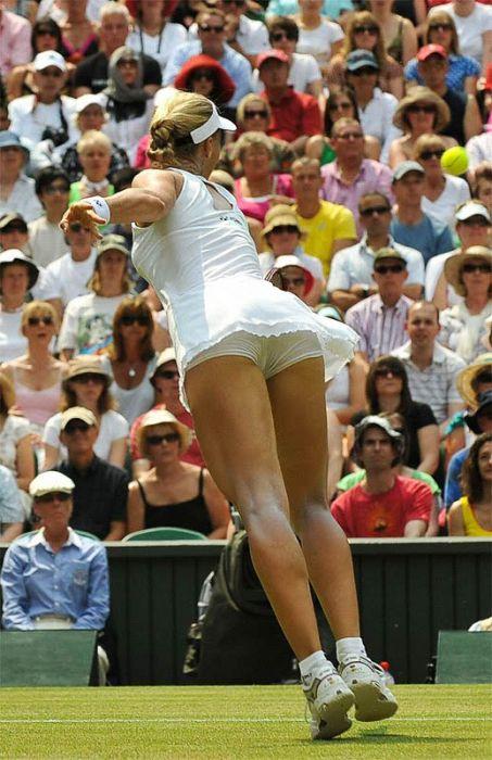 Попы теннисисток (39 фото)