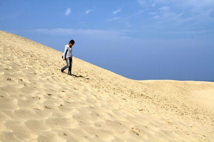 Пустыня Тоттори в Японии (18 фото)