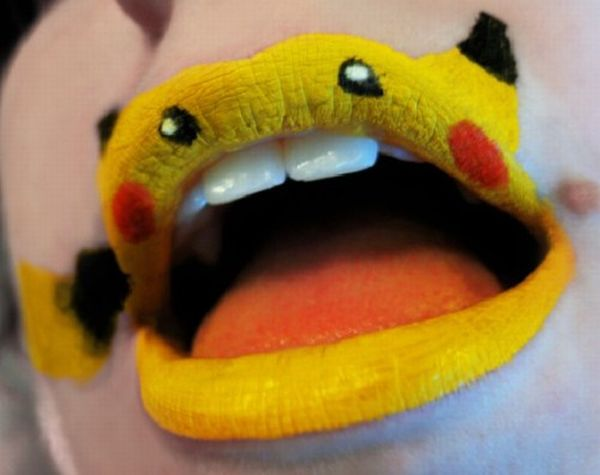 Креативные губы (7 фото)