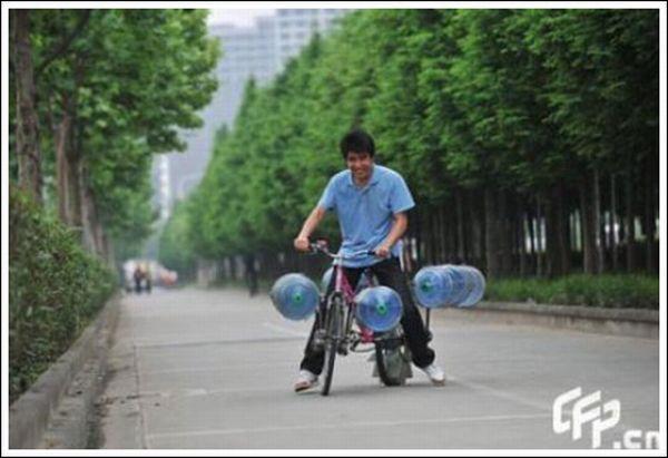 Водный велосипед (13 фото)