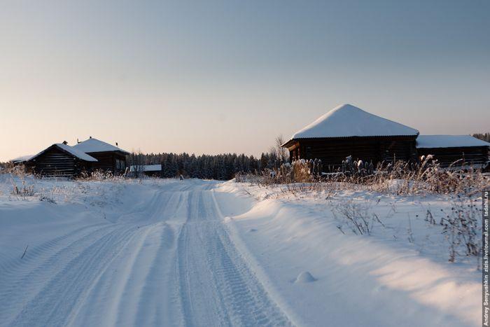 Брошенная деревня в Пермском крае (28 фото)