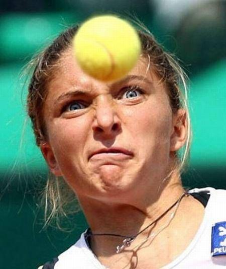 Смешные гримасы тенниса (20 фото)