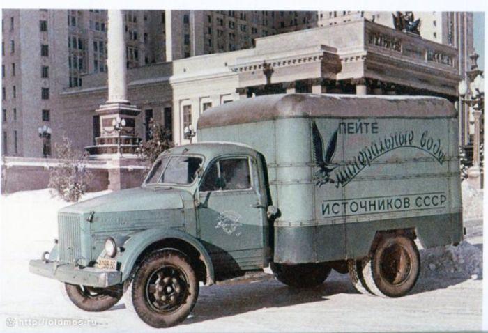 Реклама на грузовиках (7 фото)