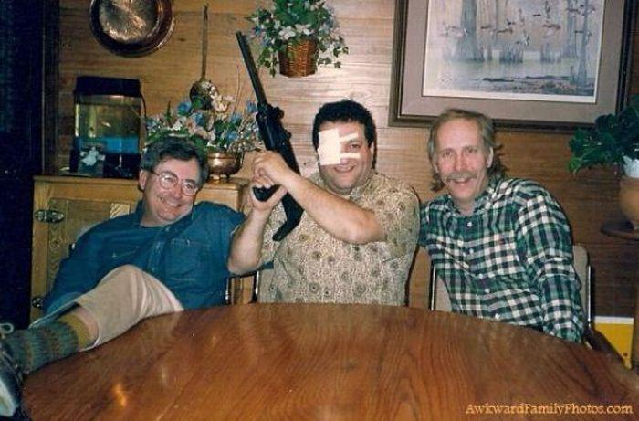 Смешные семейные фотографии (126 фото)