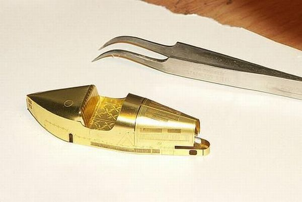 Поделки из золота (16 фото)