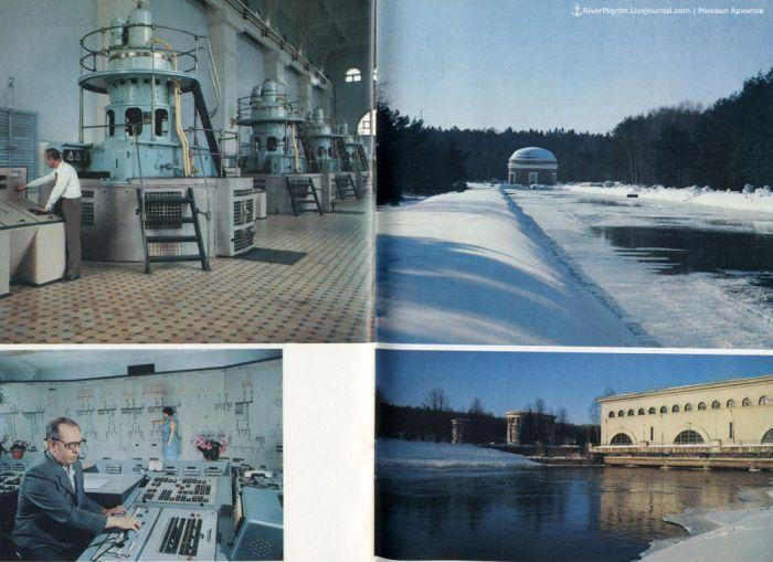 Канал Москвы в советское время (45 фото)