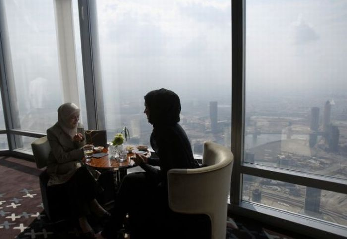 Ресторан на высоте (19 фото)