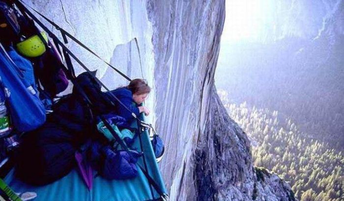 Где ночуют альпинисты (17 фото)