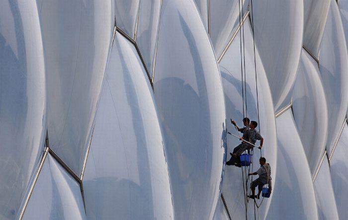 Промышленный альпинизм (17 фото)