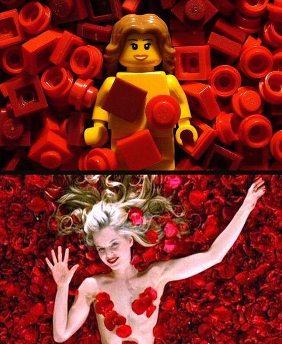 Кино-моменты из кубиков LEGO (29 фото)