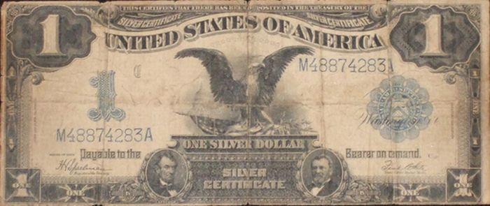 Очень старые и редкие долларовые купюры (22 фото)