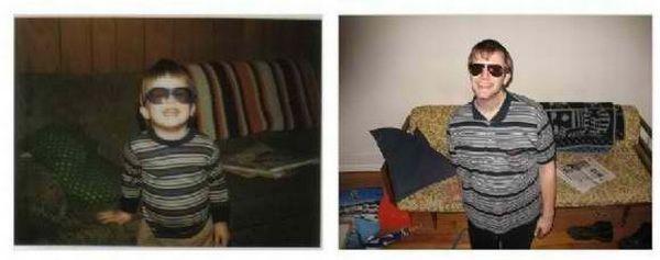Тогда и сейчас (22 фото)