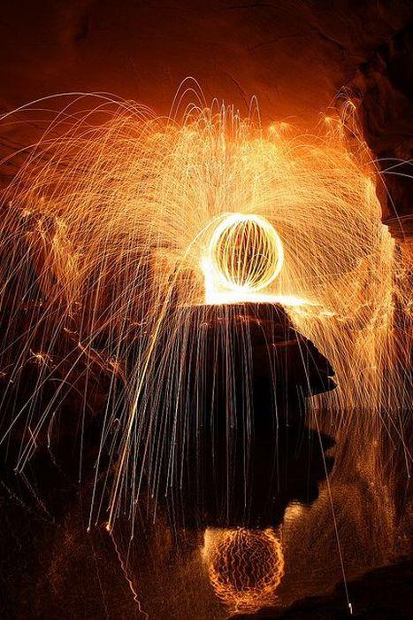 Потрясающие фотографии со световыми эффектами (50 фото)
